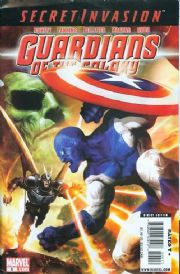 Guardians Of The Galaxy #6 (2008) Secret Invasion Marvel comic book
